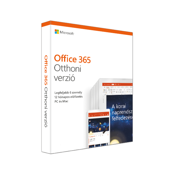 Office 365 Home Mac/Win Hungarian Subscription P4