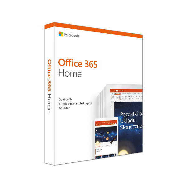 Office 365 Home Mac/Win Polish Subscription P4