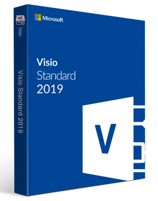 Visio Std 2019 Win Czech Medialess