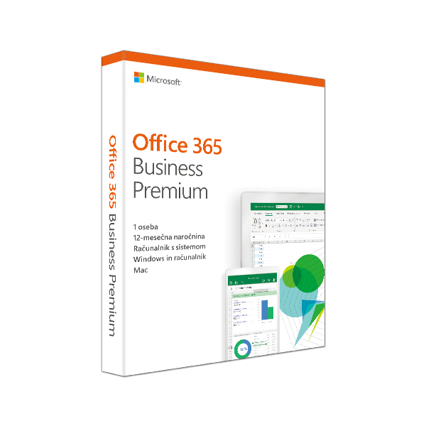 Office 365 Business Premium Retail Slovenian