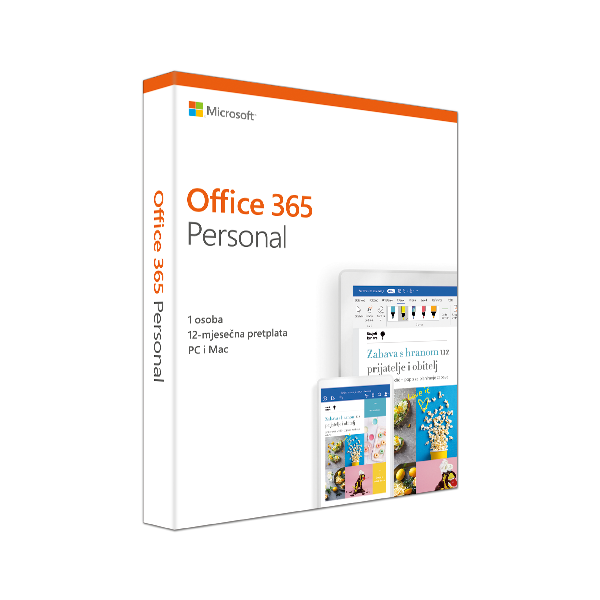 Office 365 Personal Mac/Win Croatian Subscription P4