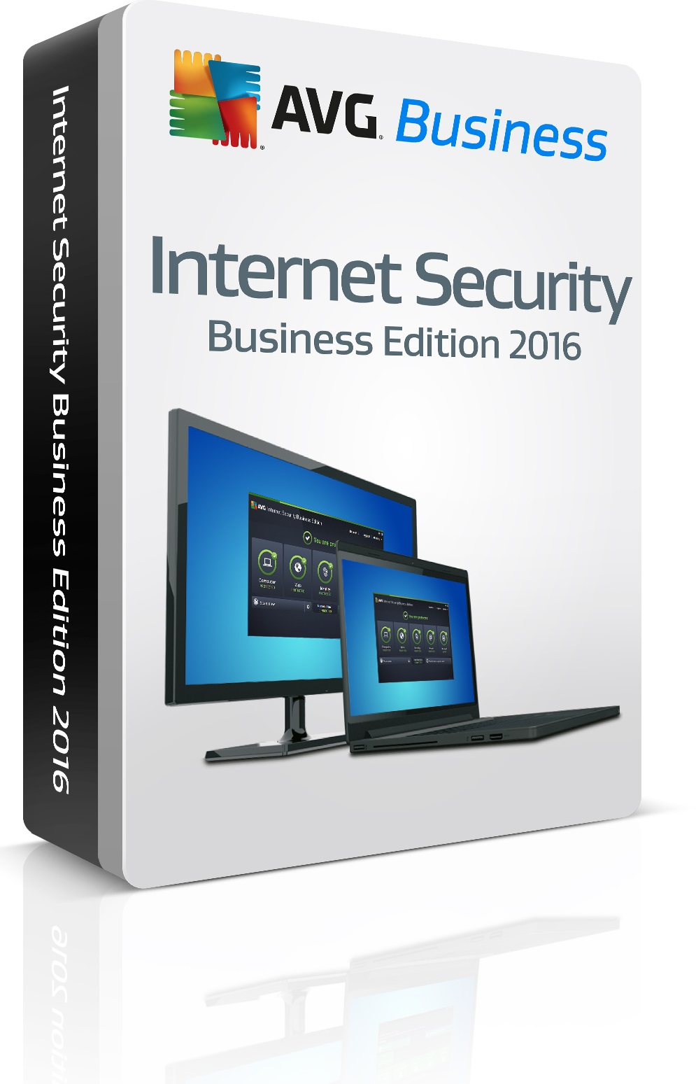 AVG Internet Security Business, 10 lic. /24 m.