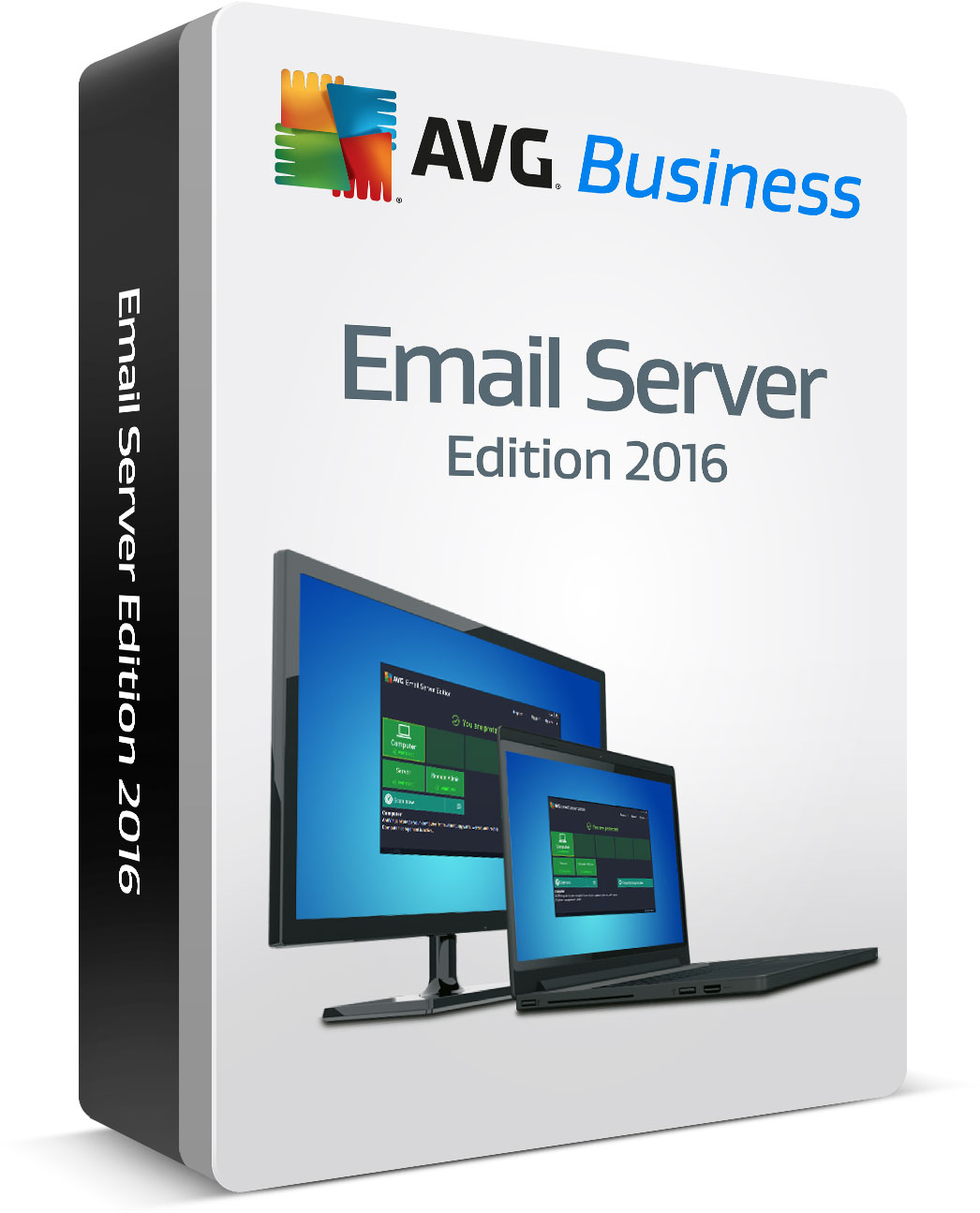 AVG Email Server Edition, 10 mbx. /24 m.