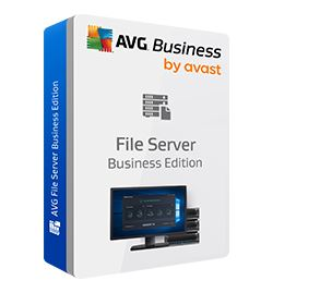 AVG File Server Business Edition, 10 lic. /24 m.