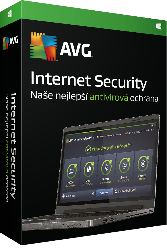 AVG Internet Security 2016, 9 lic. (24 měs.) - elektronická licence