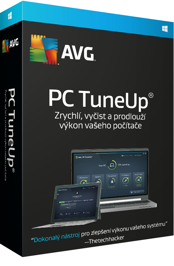 AVG PC TuneUp 1 lic. (36 měs.)