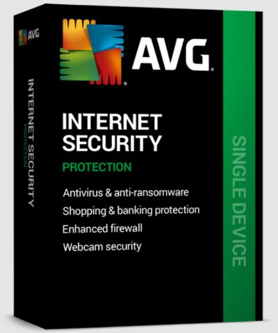 AVG Internet Security for Windows 1 PC 1Y