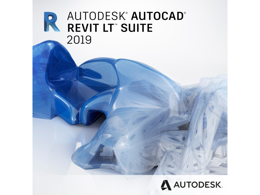 AutoCad Revit LT Suite 2019 Commercial New Single-user ELD 1-Year Subscription