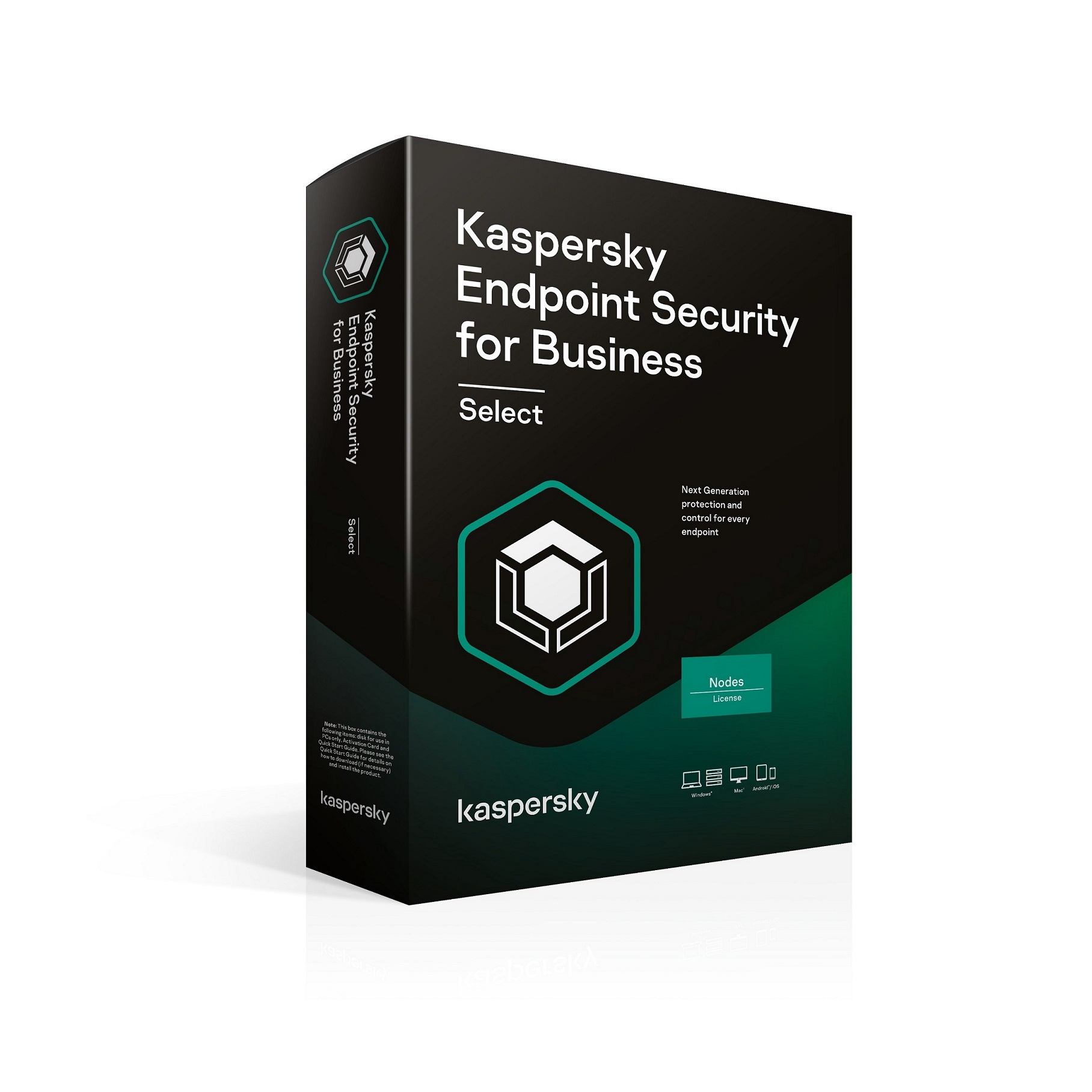 Kaspersky Endpoint Select 10-14 Node 3 year Nová