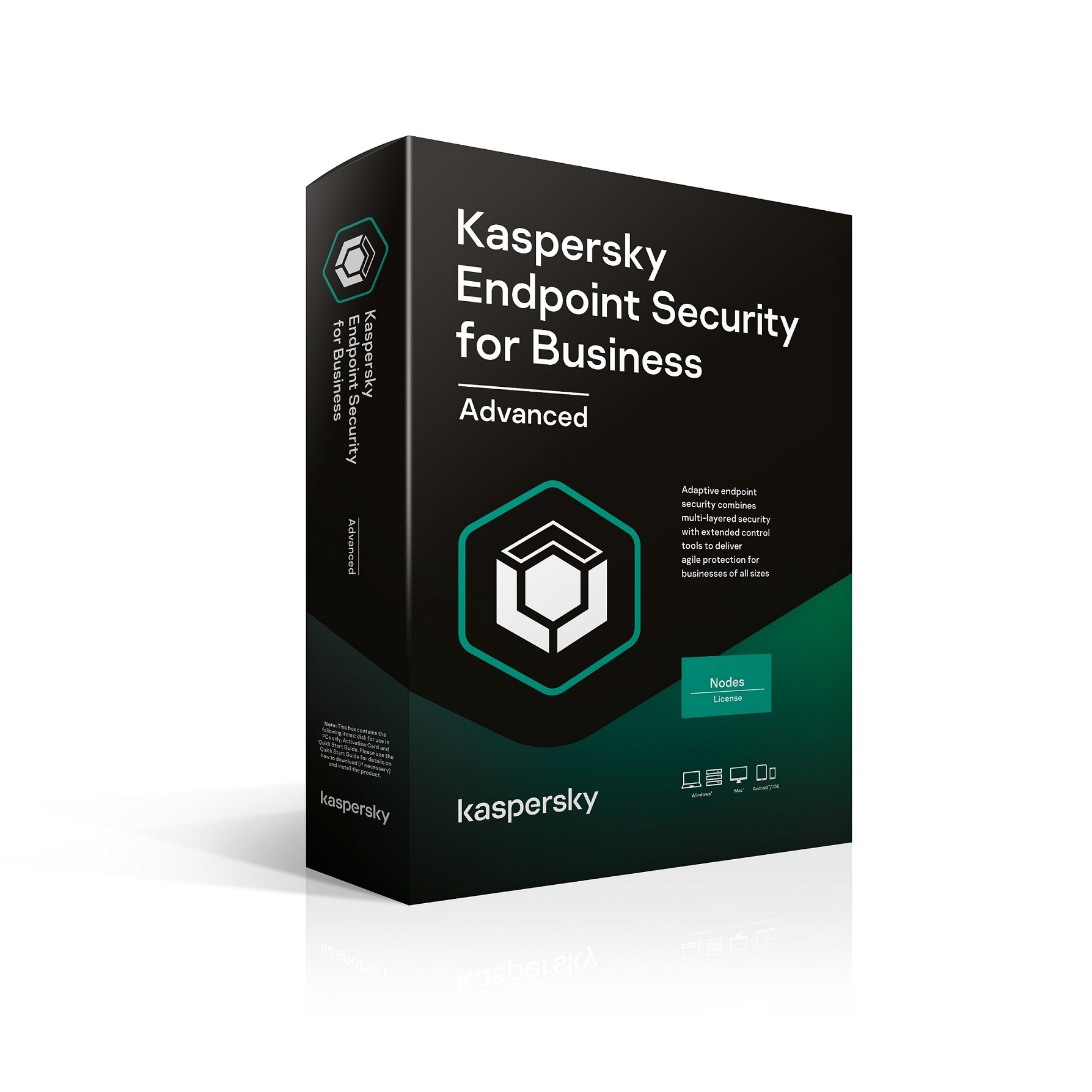 Kaspersky Endpoint Advanced 50-99 Node 2 year Nová