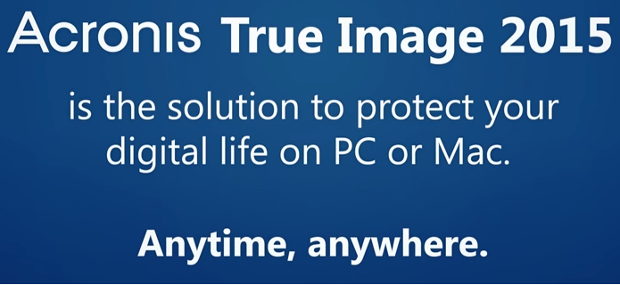 Acronis True Image 2018 - 5 Computers - ESD