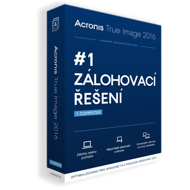 Acronis True Imag Prem Sub 1Comp + 1TB Cloud + 1Y