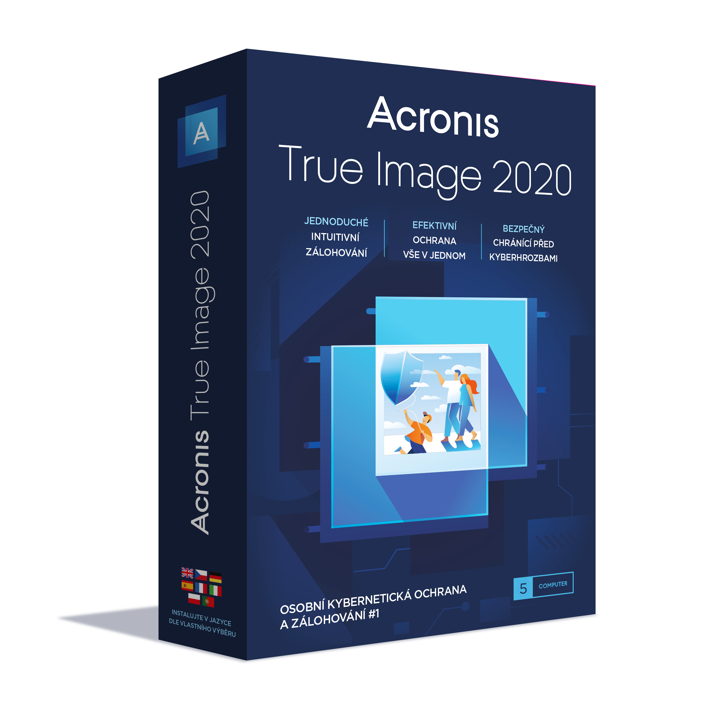 Acronis True Image 2020 - 5 Computers - BOX