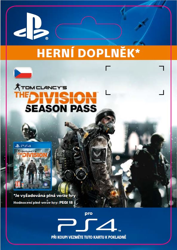 ESD CZ PS4 - Tom Clancy's The Division - Season Pa