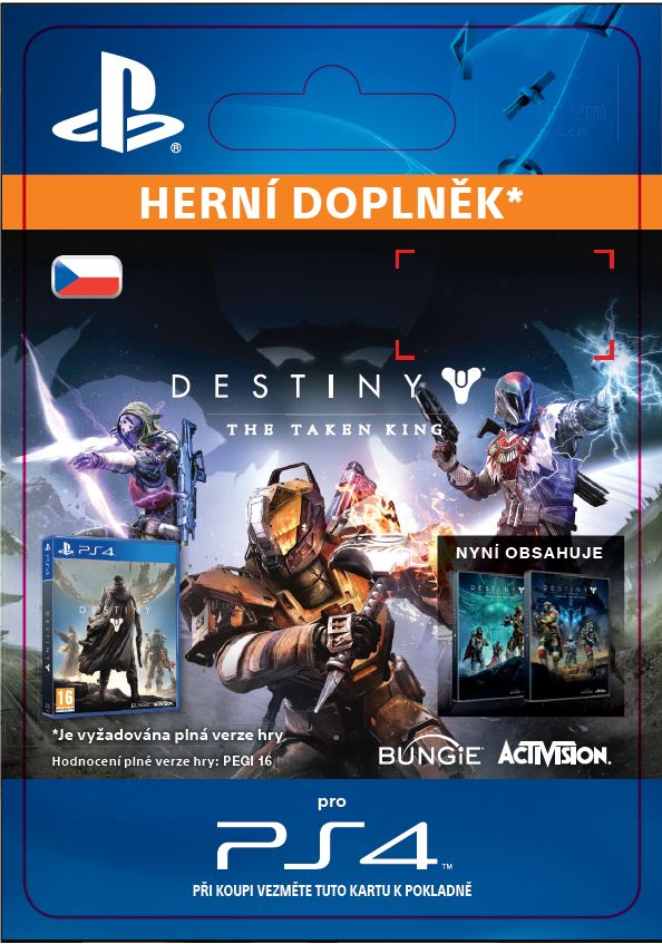 ESD CZ PS4 - Destiny: The Taken King