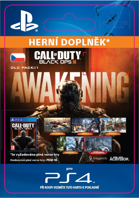 ESD CZ PS4 - Call of Duty®: Black Ops III Awekinin