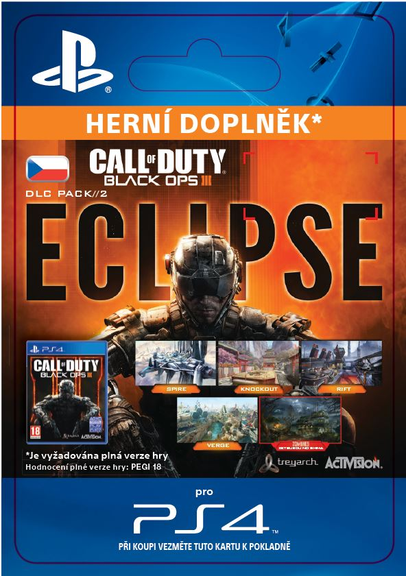 ESD CZ PS4 - Call of Duty®: Black Ops III Eclipse