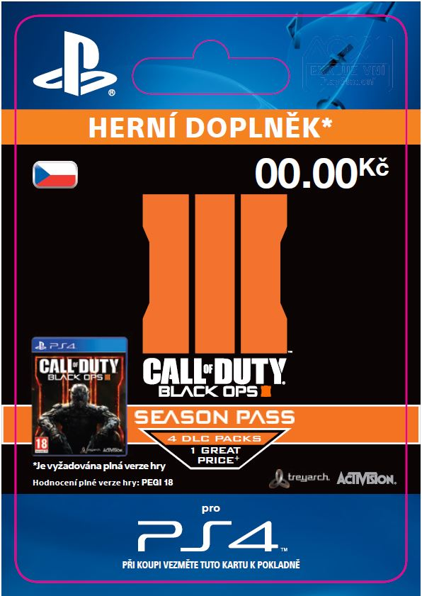 ESD CZ PS4 - Call of Duty®: Black Ops III Season P