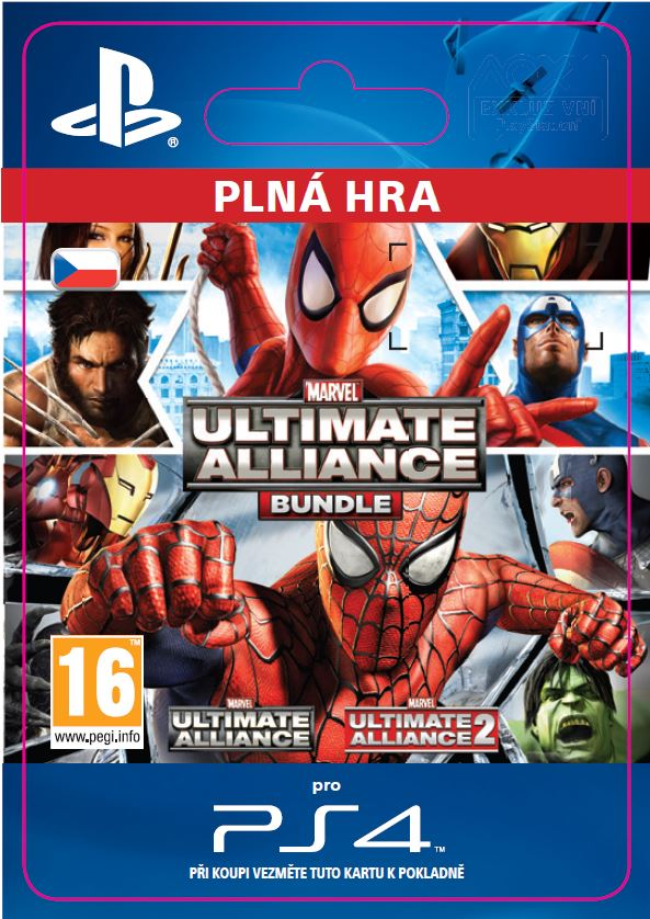 ESD CZ PS4 - Marvel: Ultimate Alliance Bundle