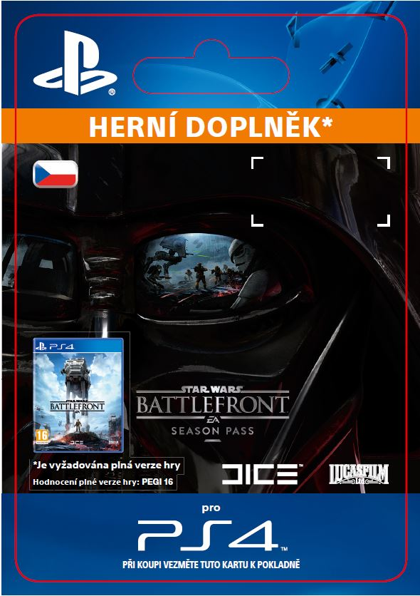 ESD CZ PS4 - STAR WARS Battlefront Season Pass
