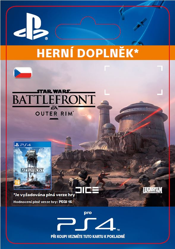 ESD CZ PS4 - STAR WARS Battlefront Outer Rim