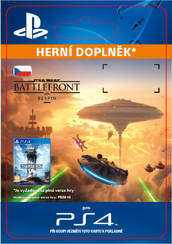 ESD CZ PS4 - STAR WARS Battlefront Bespin