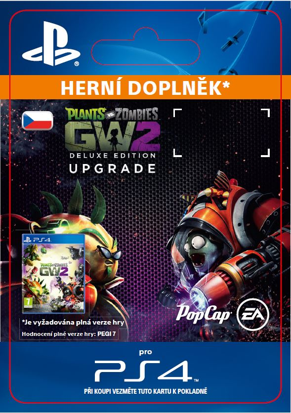 ESD CZ PS4 - Plants vs. Zombies Garden Warfare 2: Deluxe Upgrade