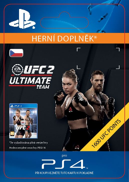 ESD CZ PS4 - EA SPORTS UFC® 2 - 1600 UFC POINTS