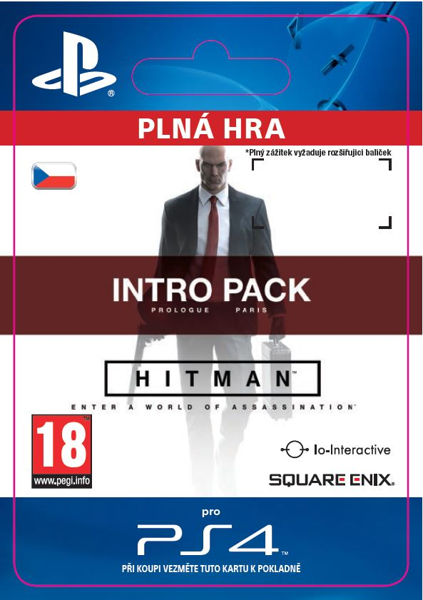 ESD CZ PS4 - HITMAN Intro Pack