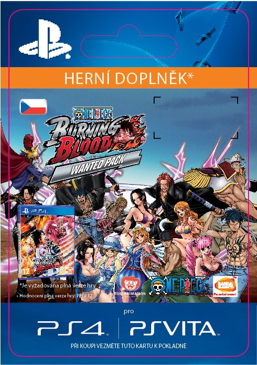 ESD CZ PS4 - One Piece Burning Blood - WANTED PACK