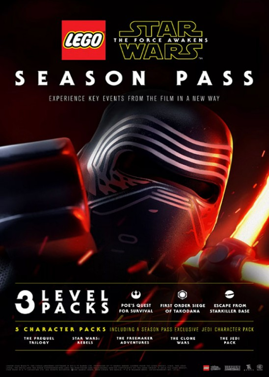 ESD CZ PS4 - LEGO® Star Wars: The Force Awakens Season Pass