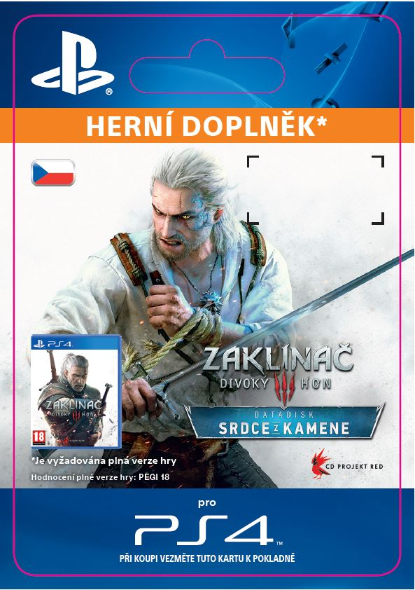 "ESD CZ PS4 - The Witcher 3: Wild Hunt €"" Hearts of Stone"
