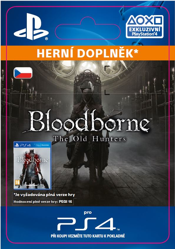 ESD CZ PS4 - Bloodborne The Old Hunters