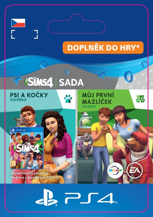 ESD CZ PS4 - The Sims™ 4 Cats and Dogs Plus My First Pet Stuff Bundle