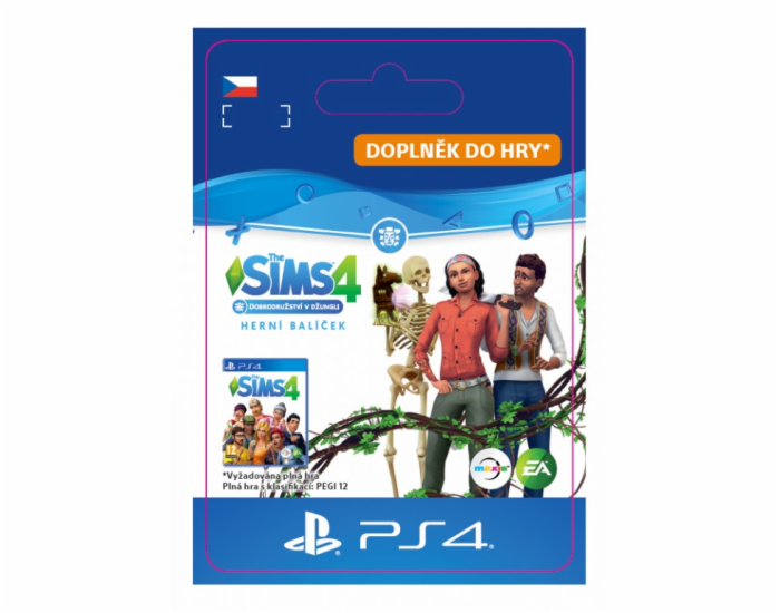 ESD SK PS4 - The Sims™ 4 Bundle -  Seasons, Jungle adventure, Spooky stuff