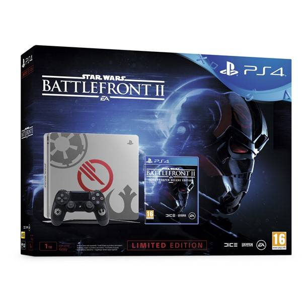 PS4 - Playstation 4 1TB Star Wars+Star Wars BattleFront II