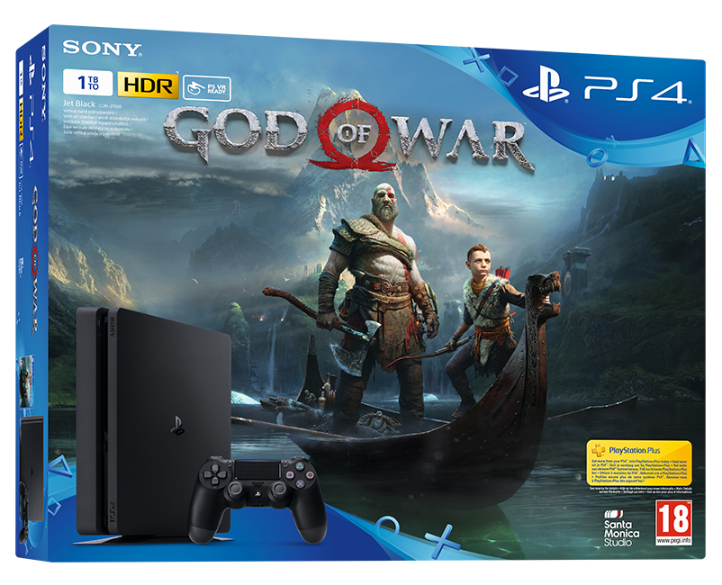 PS4 - Playstation 4 1TB + God of War