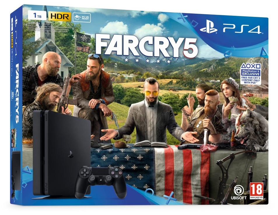 PS4 - Playstation 4 1TB + Far Cry 5