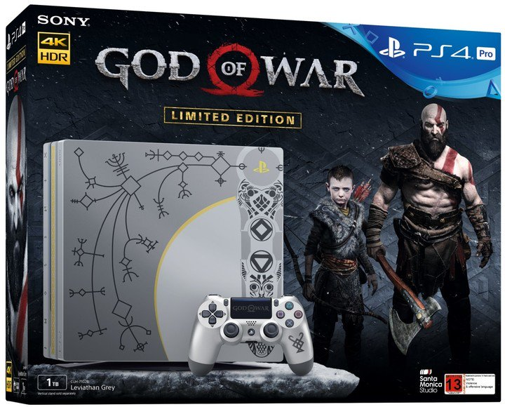 PS4 Pro - Playstation 4 Pro 1TB + GOW + DS4 GOW
