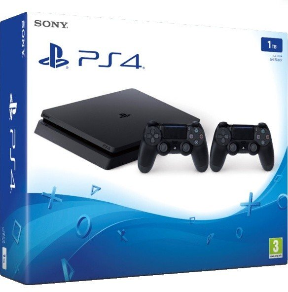 PS4 - Playstation 4 1TB - E Chasiss + DS4 black