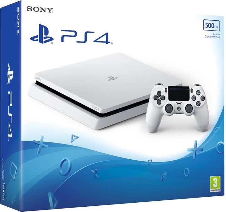 PS4 - Playstation 4 500GB White/F chassis