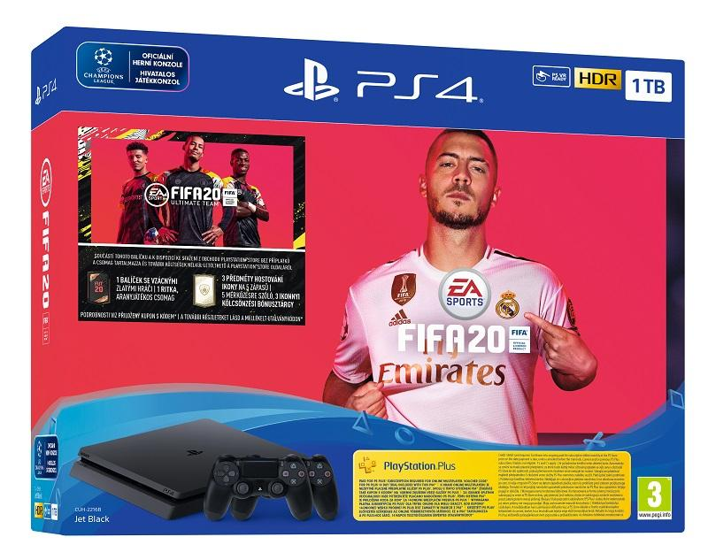 PS4 - Playstation 4 1TB F Slim + FIFA20 + DS4