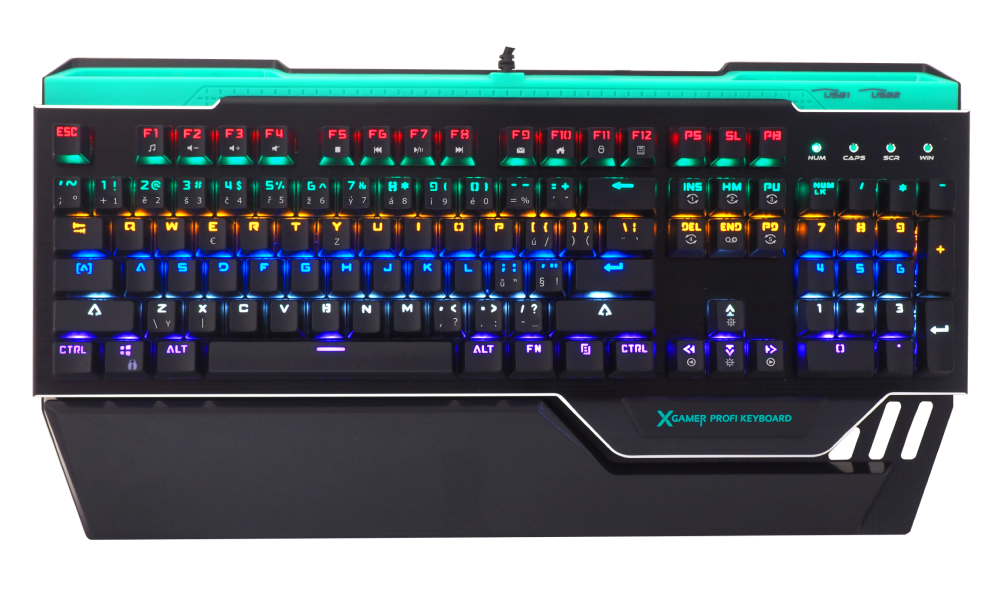 X-Gamer Profi Keyboard KM10 CZ