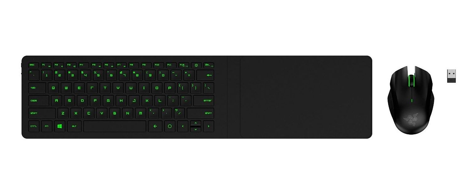 Razer Turret - Mouse and Lapboard - US Layout