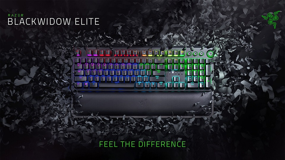 Razer BlackWidow Elite (Green Switch) - US Layout