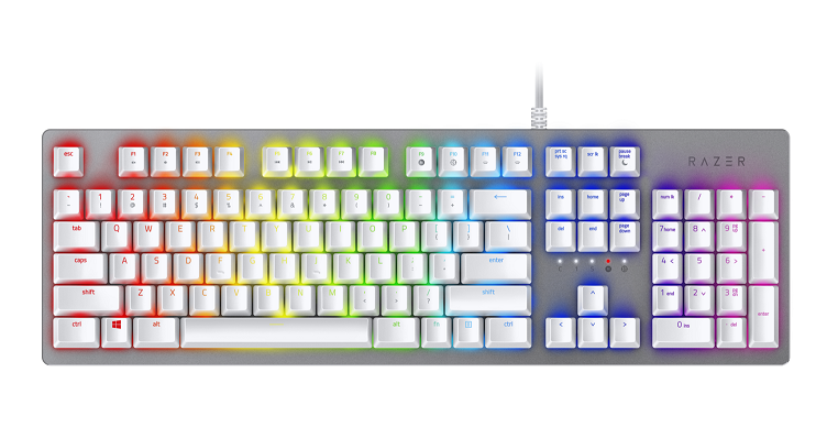 Razer Huntsman US Layout Mercury