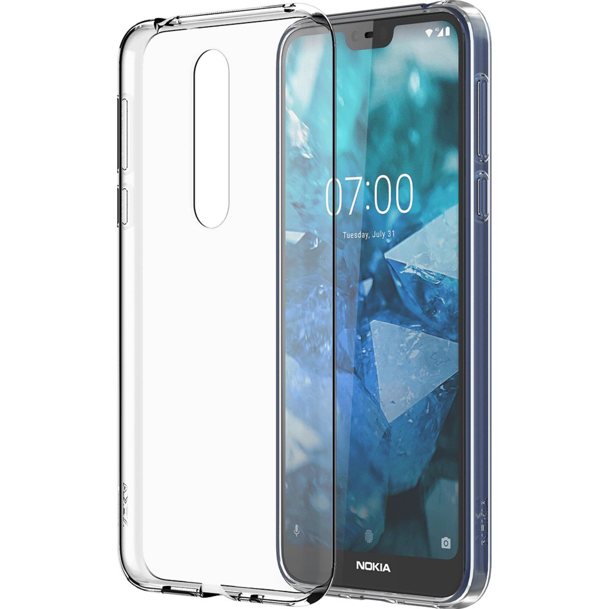 Nokia Slim Crystal case CC-170 for Nokia 7.1