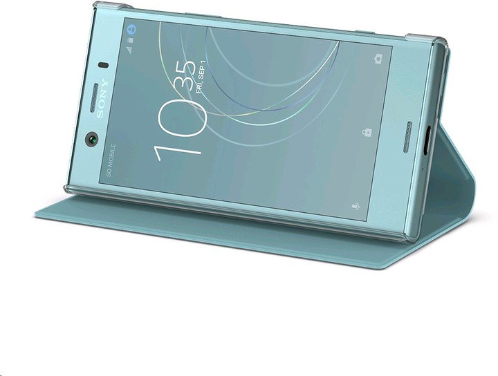 Sony Style Cover Flip pro Xperia XZ1 Compact Blue