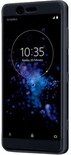 Sony SCTH50 Style Cover Touch XZ2 Compact Black