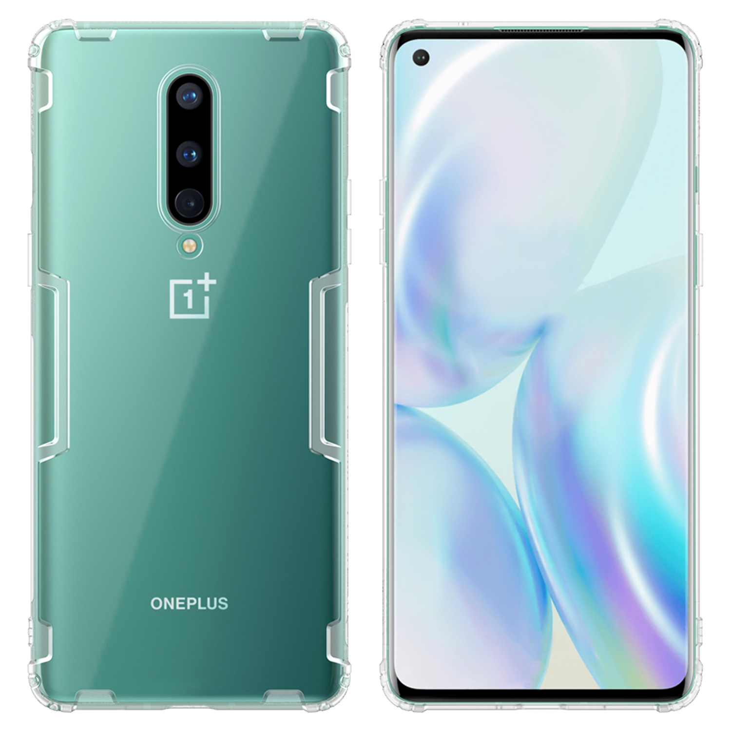Nillkin Nature TPU Kryt OnePlus 8 Transparent